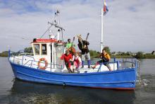 Kozakkenveer op de IJssel bij Fortmont - Veessen