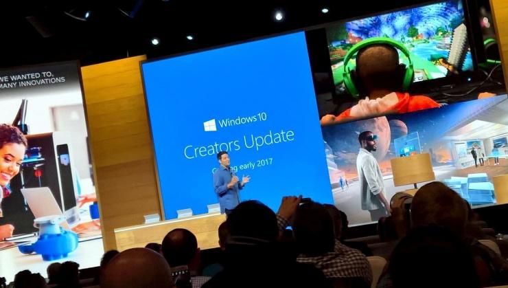 De Windows 10 creators update-event eind oktober 2016