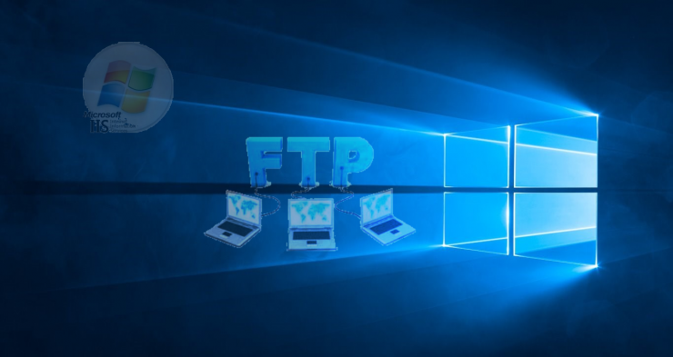 FTP in het Windows 10 'zonnetje'